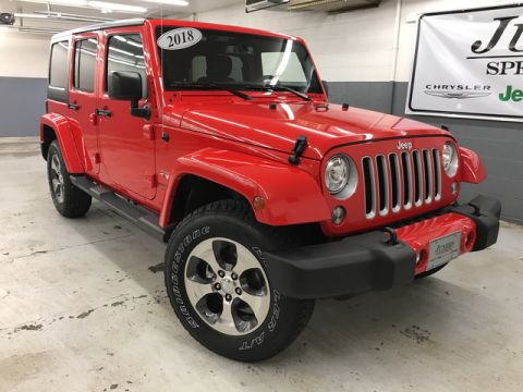 New JEEP Wrangler Unlimited Sahara