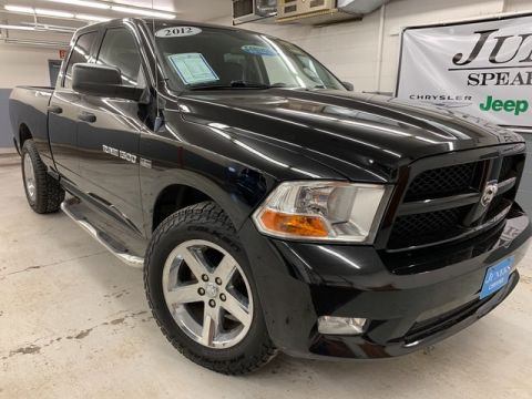 Pre-Owned 2012 Ram 1500 Quad Cab Express