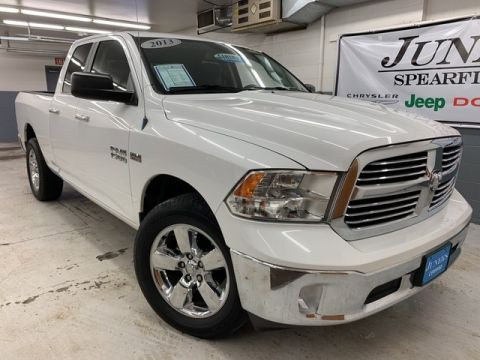 Pre-Owned 2013 Ram 1500 QUAD CAB Big Horn