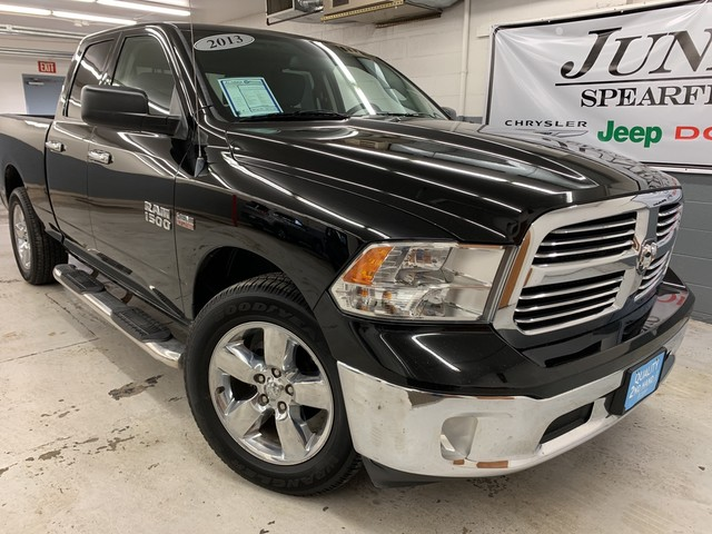 Pre-Owned 2013 Ram 1500 QUAD CAB Lone Star