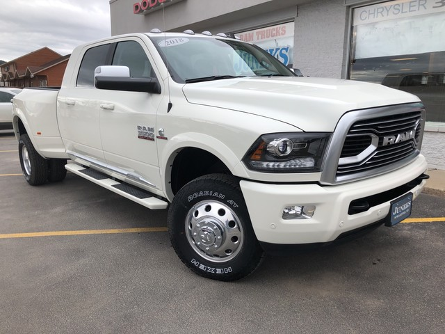 NEW 2018 RAM 3500 LIMITED MEGA CAB